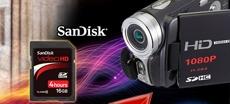 SanDisk高清视频存储卡体验