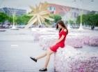 【红裙少女】-BY警卫员