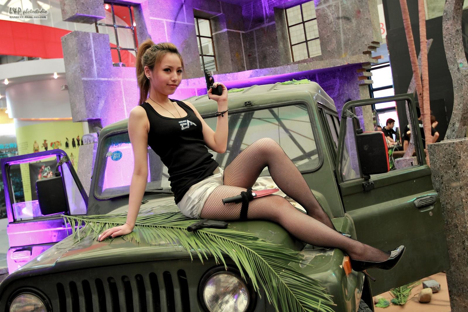 2010 chinajoy showgirl大集合 所有拍到的都在