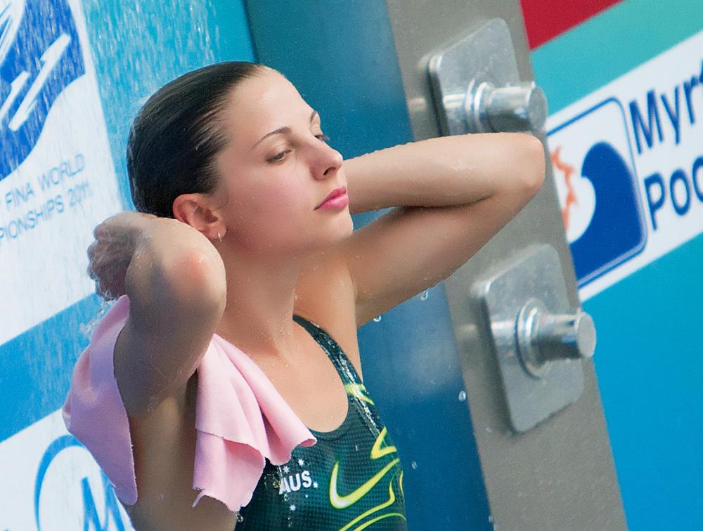 美女跳水运动员 ~~~