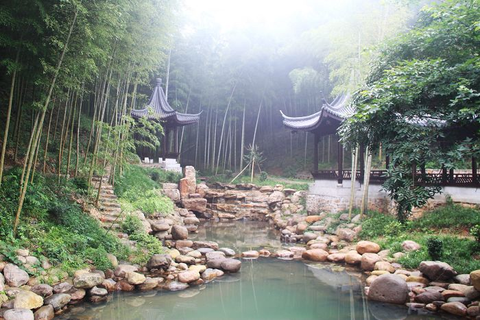 宜興竹海風景區位于蘇