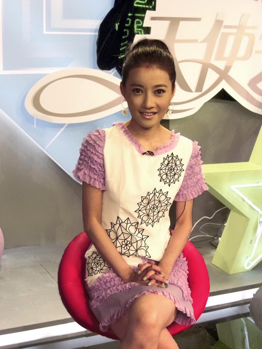 上海电视台美女主持人――马杰