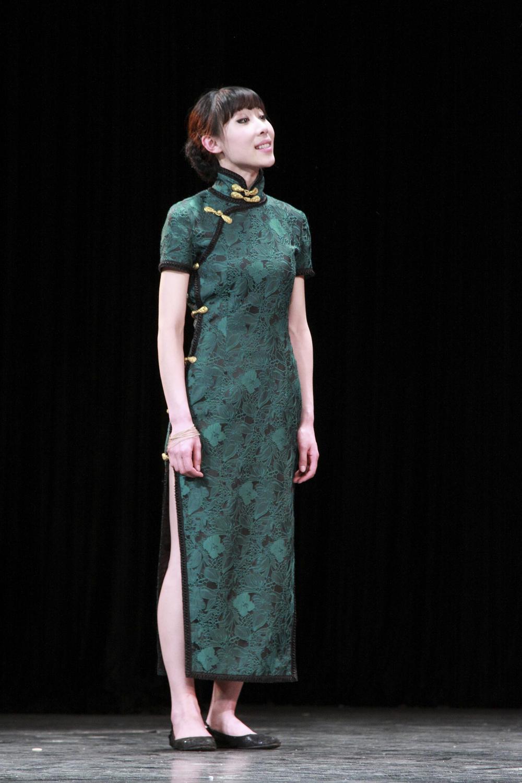 2014 2015 t台 服装 旗袍 时装秀 时装周 唐装 秀场 走秀 1000_1500