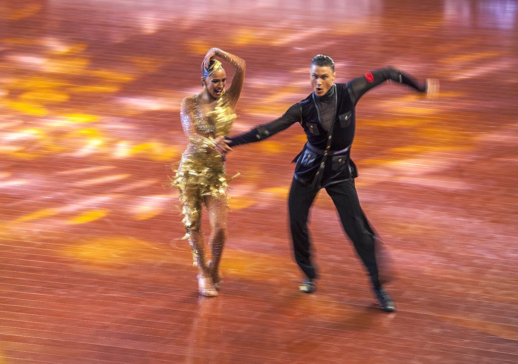 2016国际体育舞蹈比赛