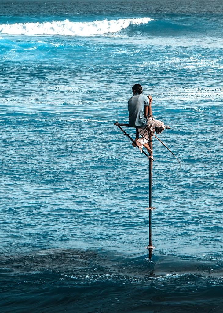 斯里兰卡海滩风光